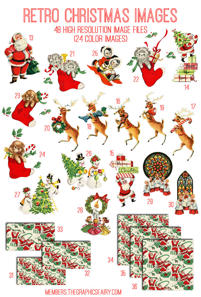 retro_xmas_image_list_graphicsfairy