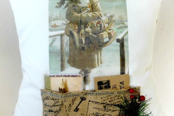 DIY Santa Pillow Cover – Reader Feature