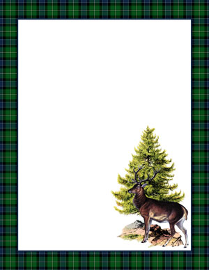 stag_paper_green_graphicsfairy