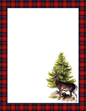 stag_paper_red_graphicsfairy