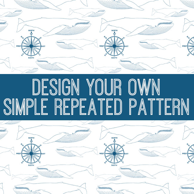 Design Your Own Simple Repeated Pattern