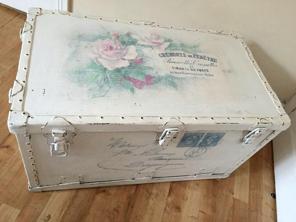 16 - Wendy - Vintage Rose Trunk