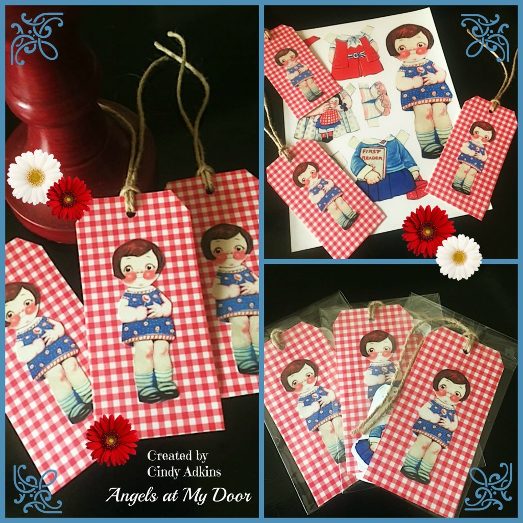 Make Paper Doll Tags
