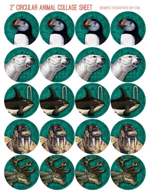 2_inch_polar_collage_teal_graphicsfairy