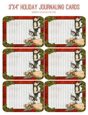 3x4_holiday_journal_cards_red_graphicsfairy