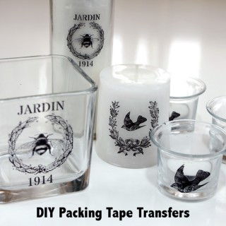 DIY Packing Tape Transfers!