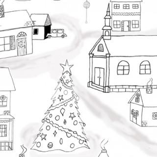 Free Printable Christmas Coloring Page!