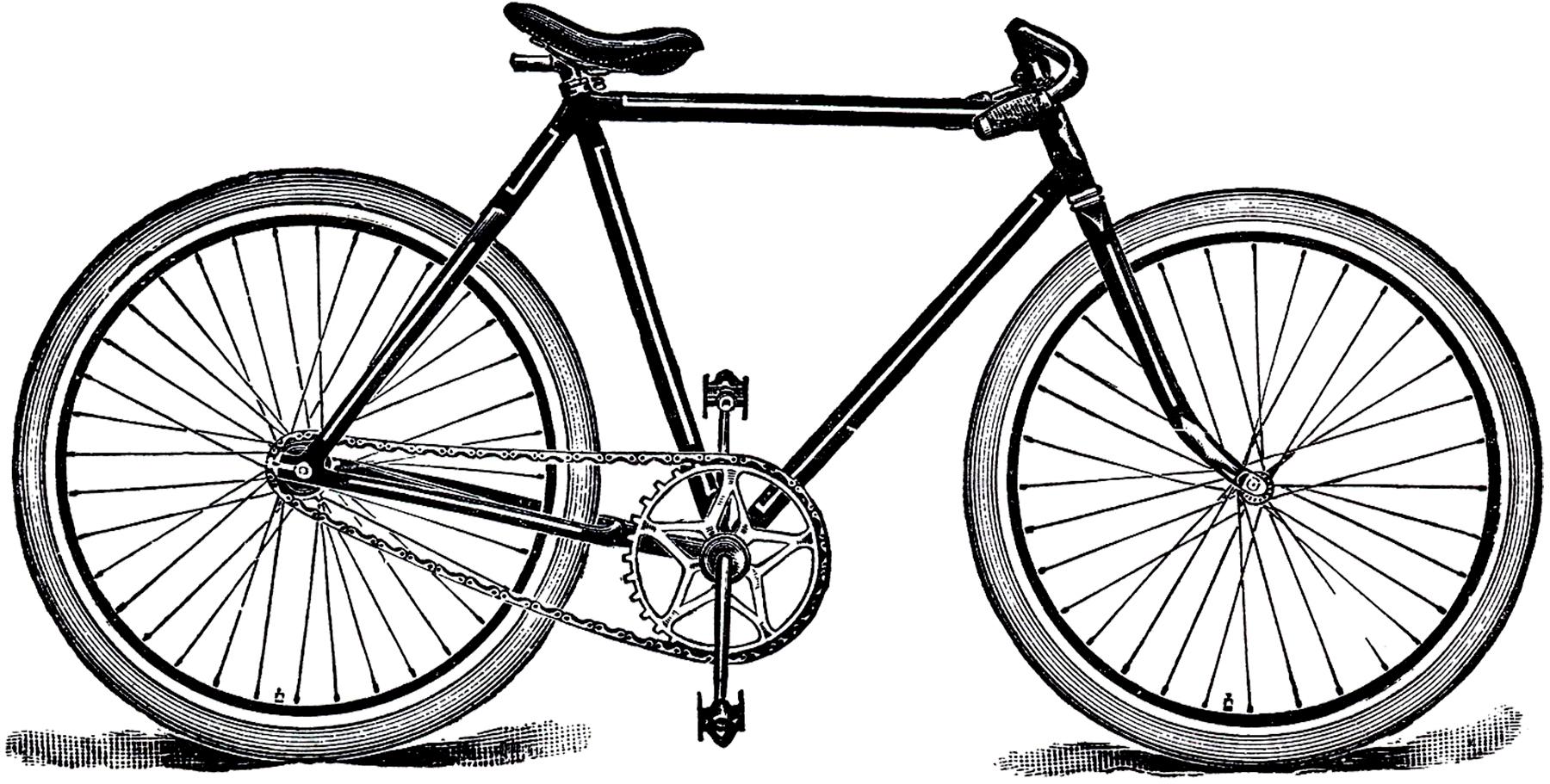 Free Public Domain Bicycle Image