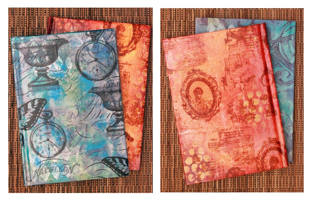 Ice-Resin-Collage-Paper-Finished-Journals
