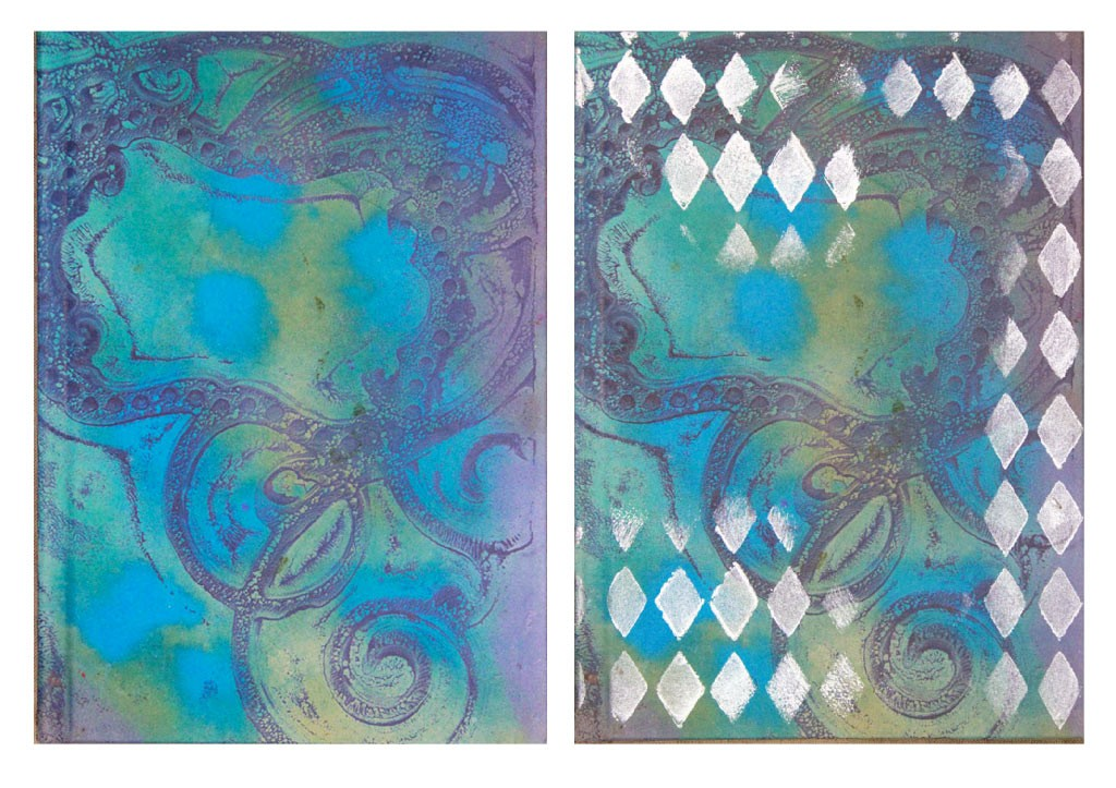 Ice-Resin-Collage-Paper-Gelli-Journal