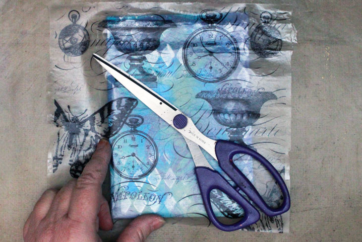Ice-Resin-Collage-Paper-Gelli-Journal-Tissue-Overlay