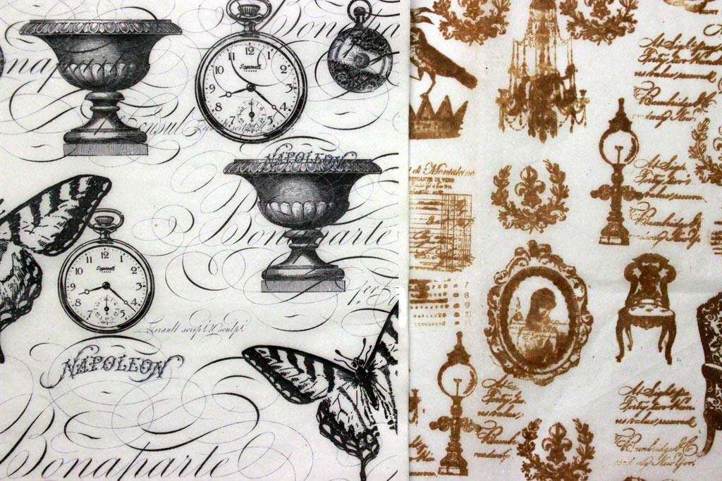 Ice-Resin-Collage-Paper-Printed-and-Stamped-Tissue