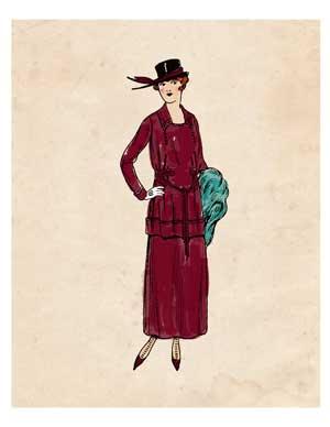 fashion-lady-maroon-graphicsfairy