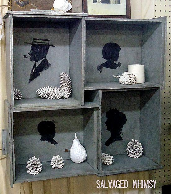 04 - Salvaged Whimsy - Silhouette Shelf