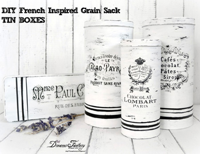 08 - Dreams Factory - Grain Sack Tins