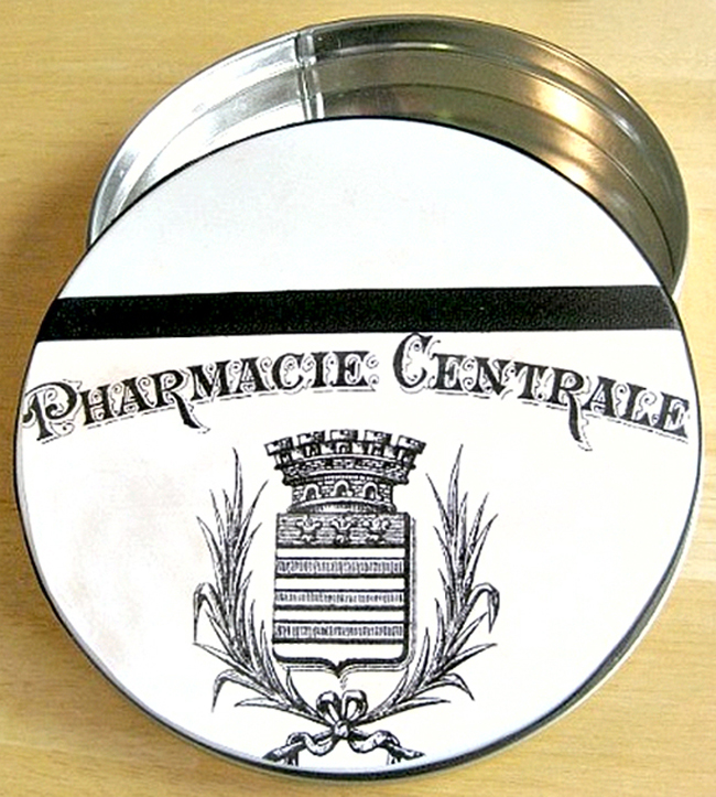 17 - Organized 31 - Pharmacy Label Tin