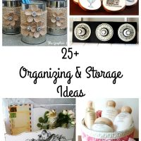 25+ Organizing and Storage Ideas