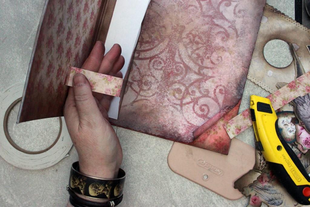 Vintage Valentine Strap Process