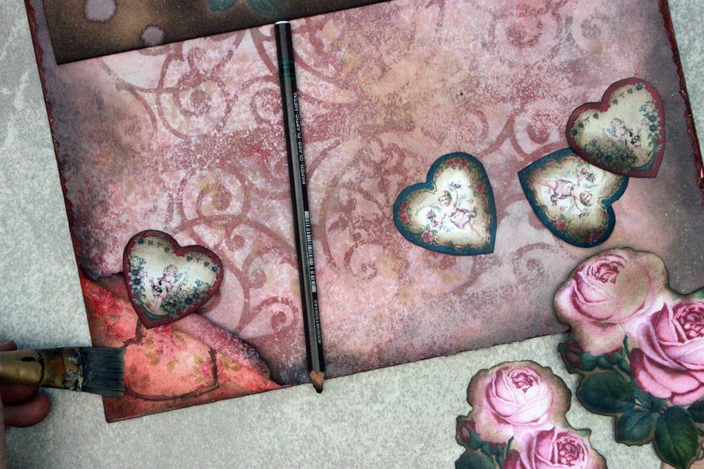 Vintage Valentine Shadows