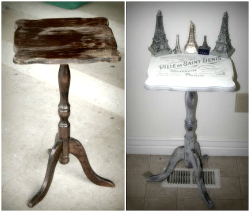 DIY french table