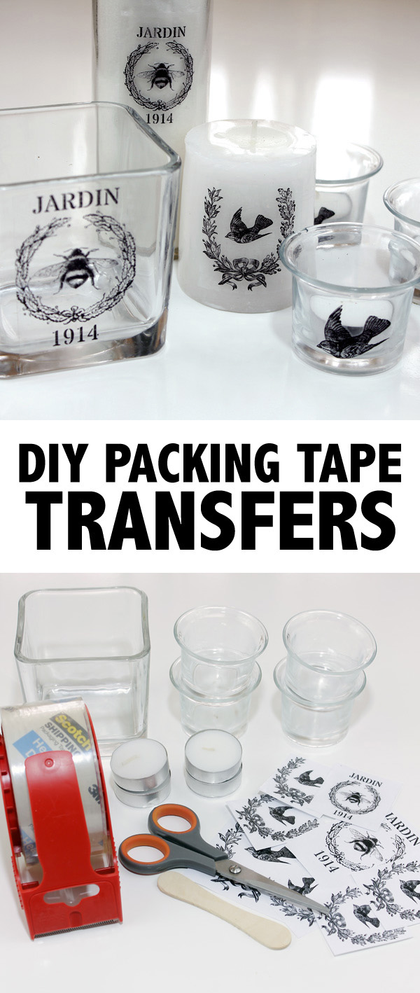 DIY Packing Tape Transfers! - The Graphics Fairy