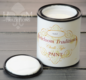 Heirloom Traditions Chalk Type Paint Nickel