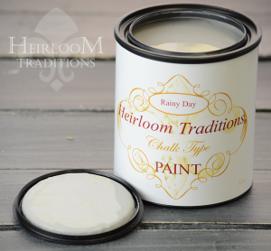 Heirloom Traditions Chalk Type Paint Rainy Day