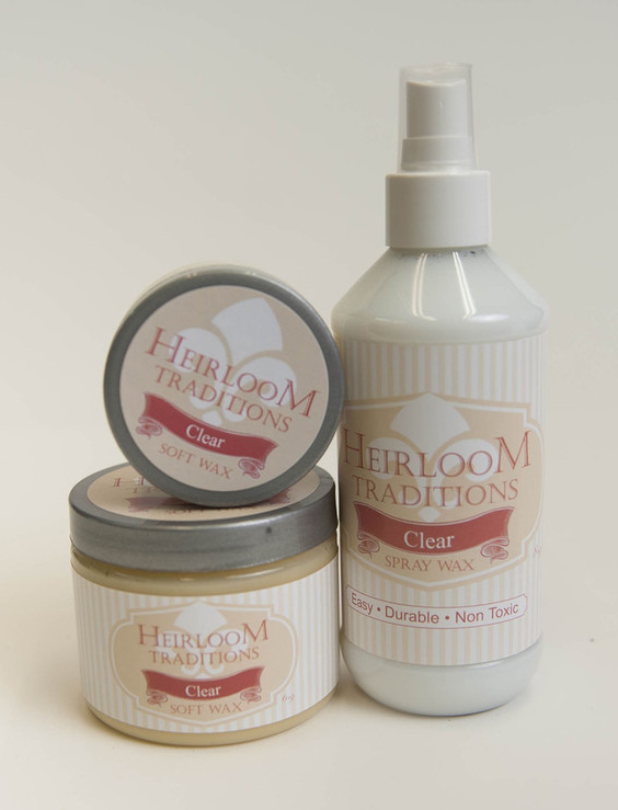 Heirloom Traditions Clear Wax