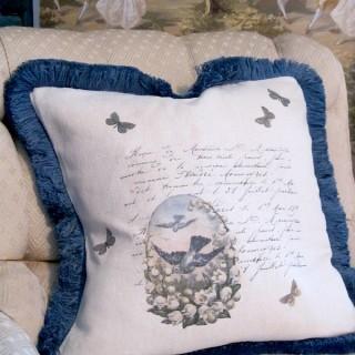 Handmade Butterflies & Birds Pillow – Reader Feature
