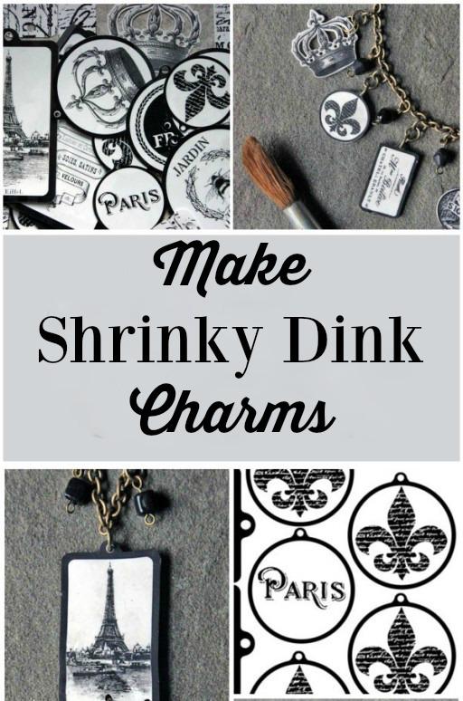 Make Shrinky Dink Charms
