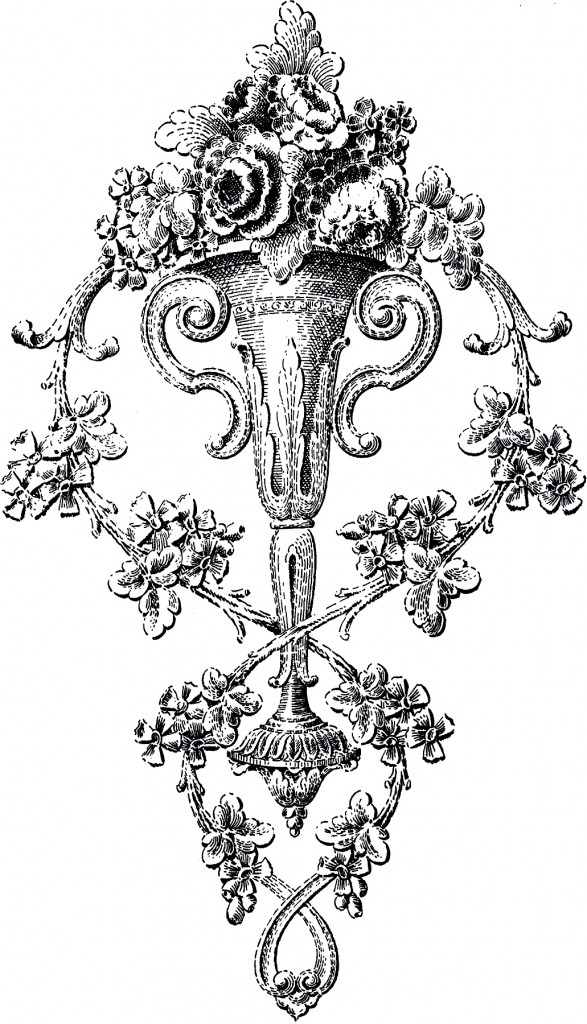 Ornate Floral Ornament Image
