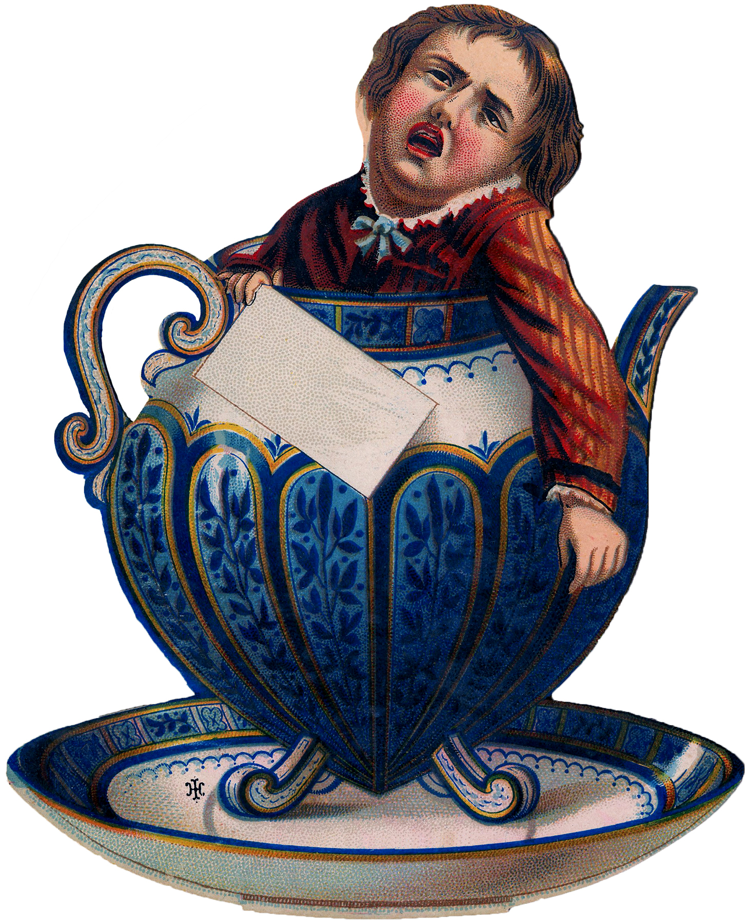 Quirky Teapot Boy Image