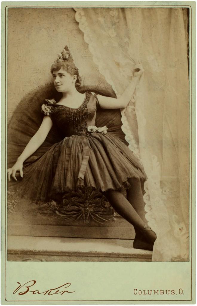 Vintage Ballerina Black Tutu Photo