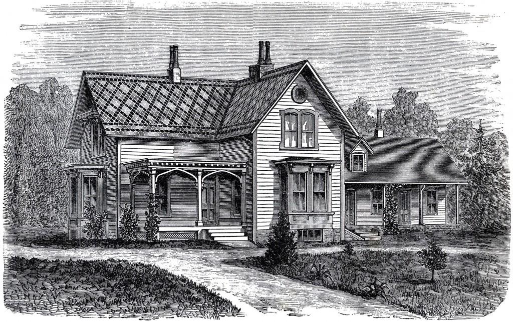 Vintage Farmhouse Image