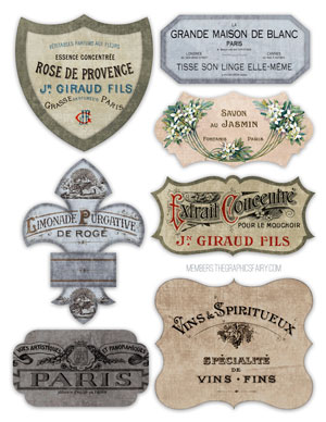 french_labels_grunge_graphicsfairy
