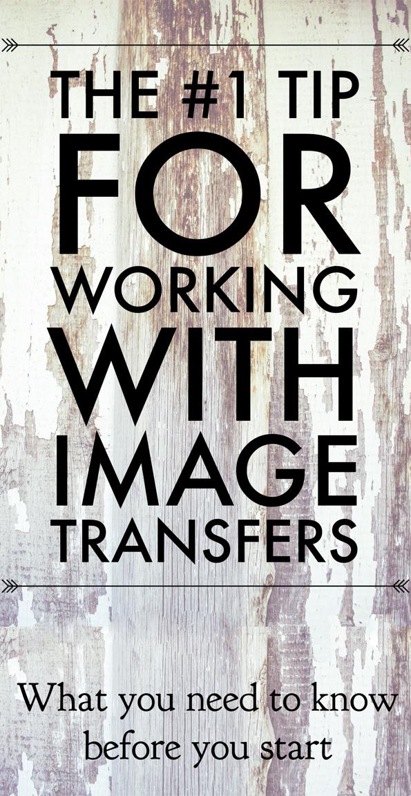 Image Transfer Tip