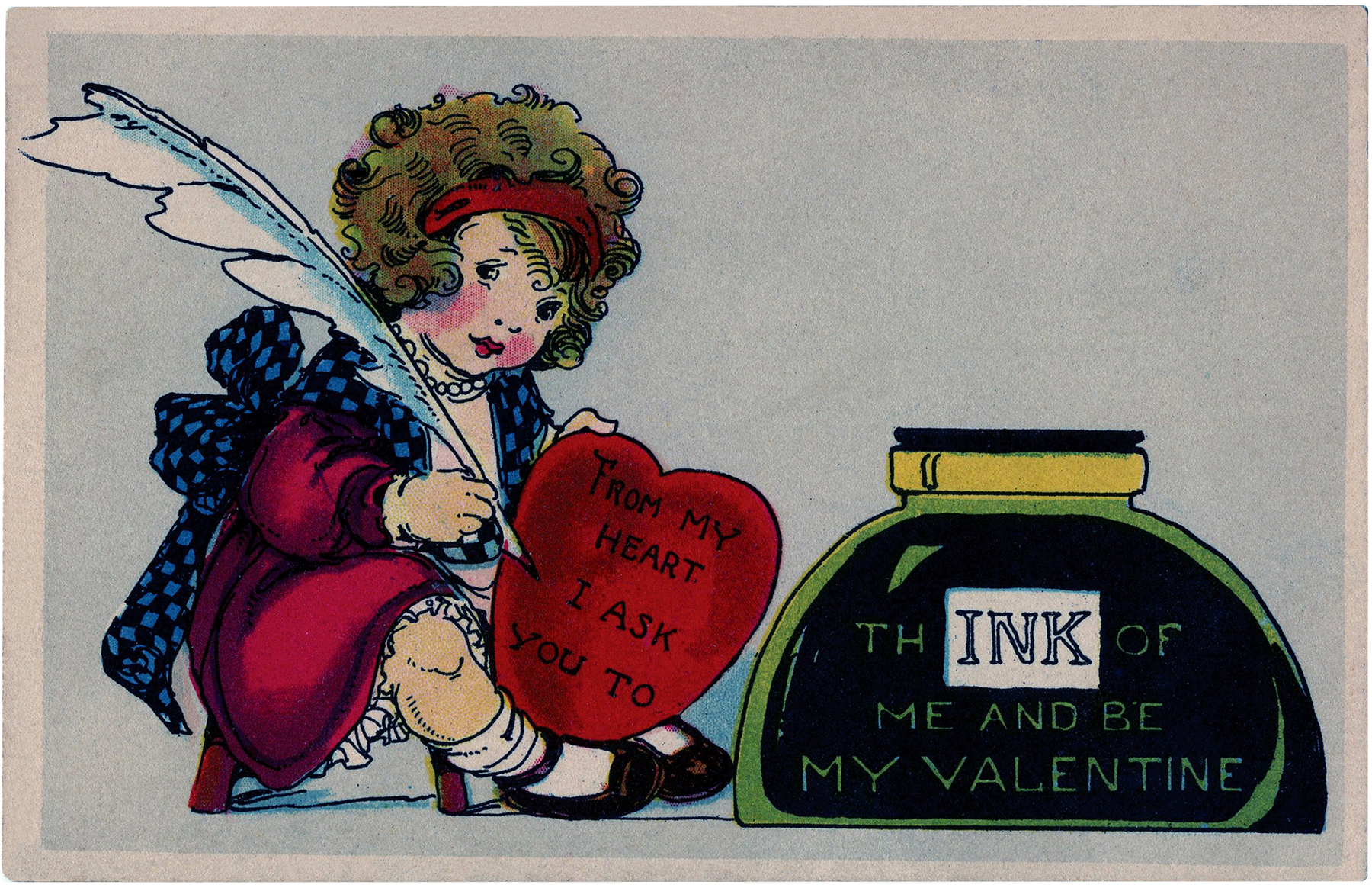 1920s Valentine Image