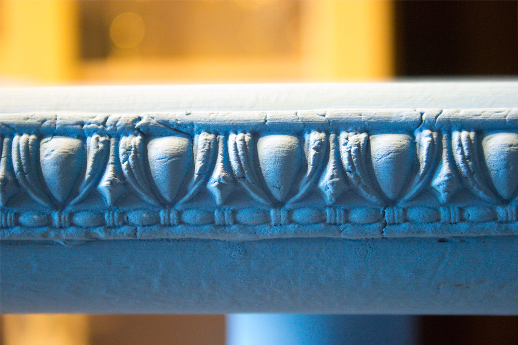 Jewel Tones Painted Furniture Finish-Danube-Base-Coat-Detail
