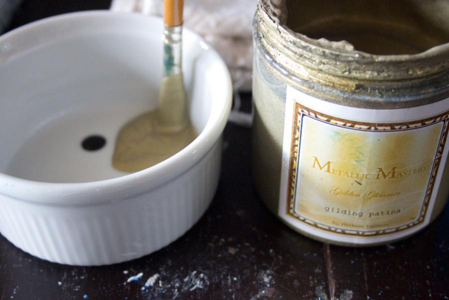 Jewel Tones Painted Furniture Finish-Metallic-Masters-Gilding-Patina-Toned