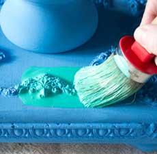 Jewel Tones Painted Furniture Finish – Easy!
