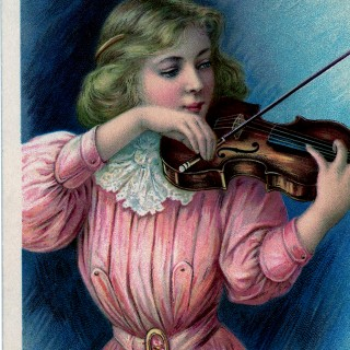 Lovely Violin Girl Image!