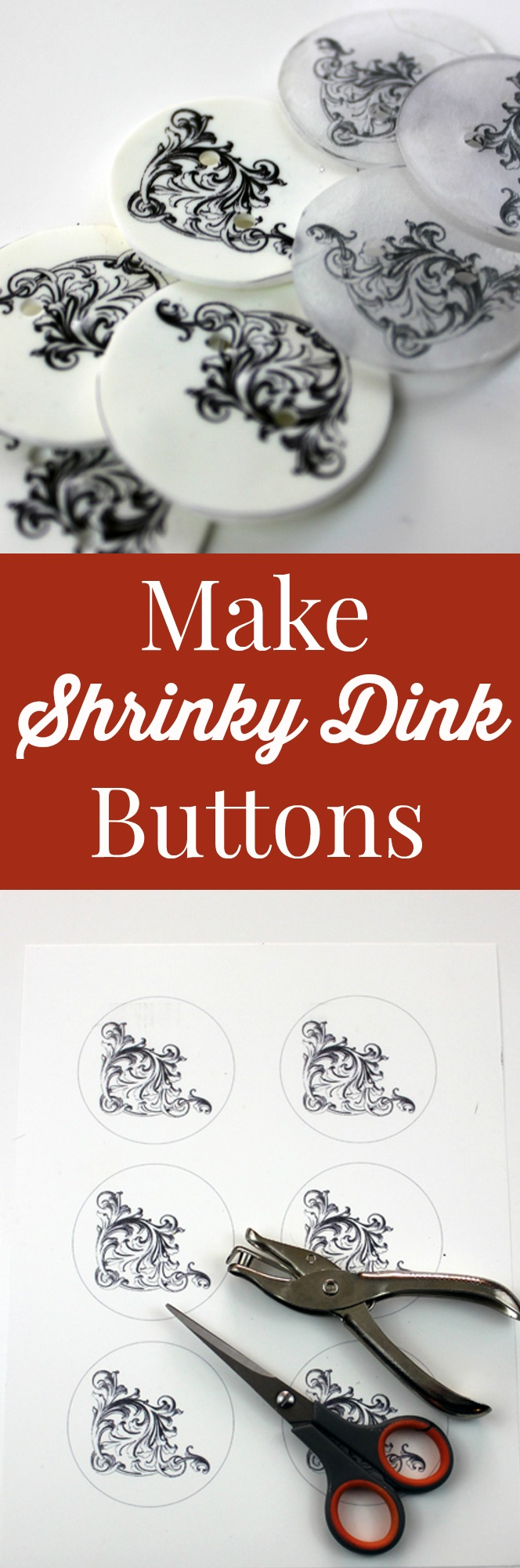Make Shrinky Dink Buttons