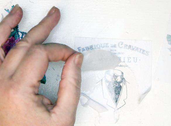 TGF Image Transfer Magic Lifting Paper Layers