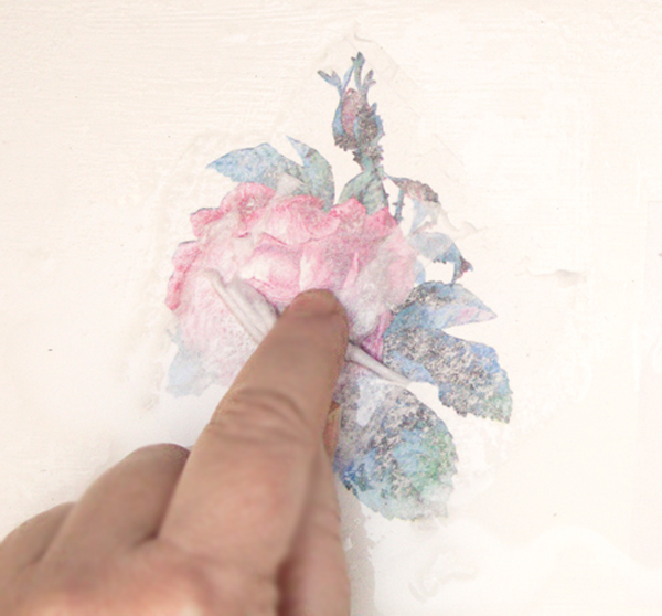 TGF Image Transfer Magic Paper Removal