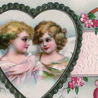 Victorian Cherubs Valentine Image – Pretty!