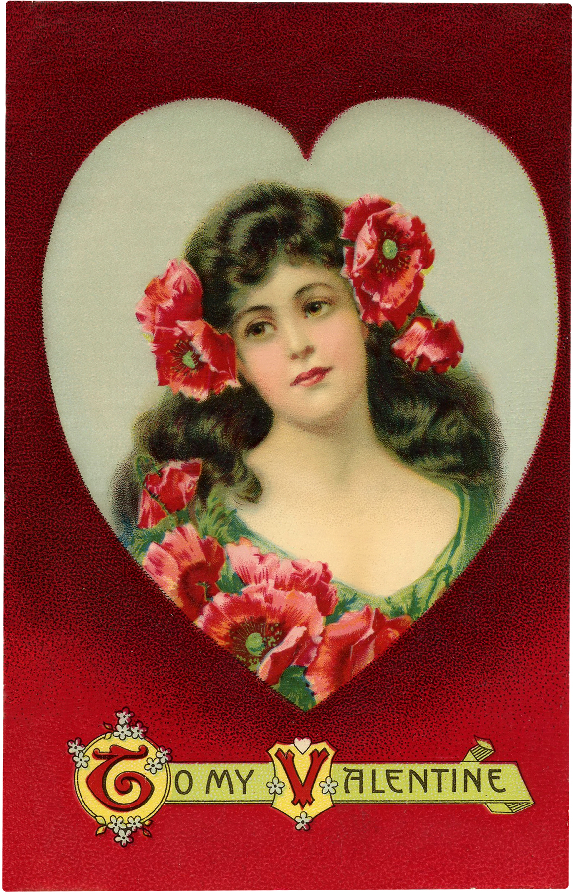 Vintage Valentine Beauty
