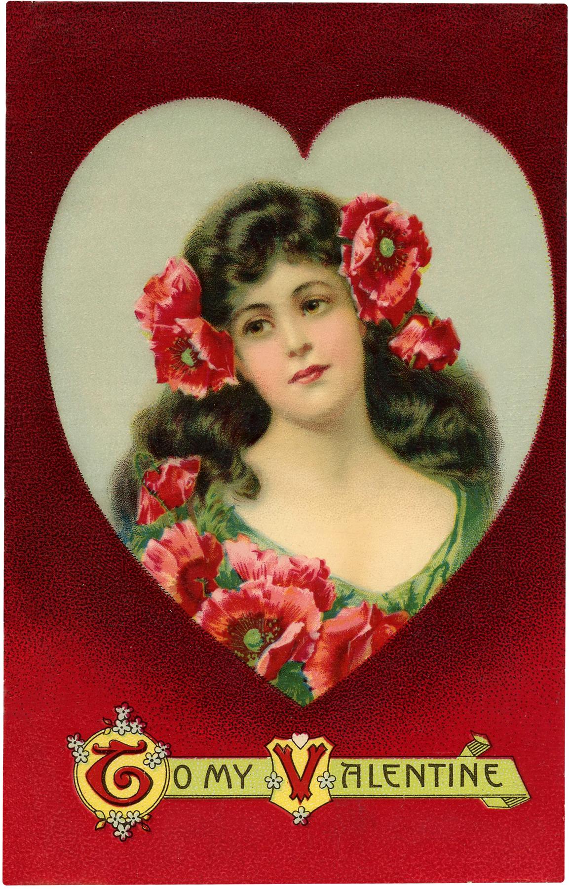 Vintage Valentine Beauty