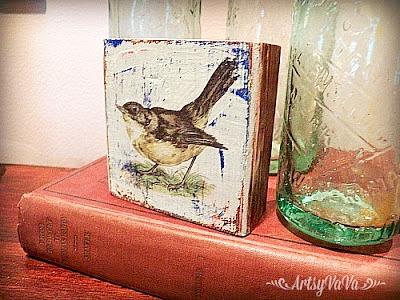 bird image transfer1S