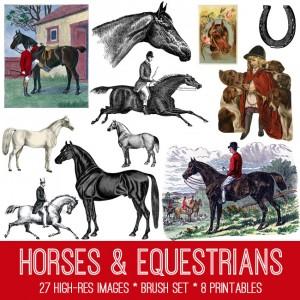 Horses Image Kit
