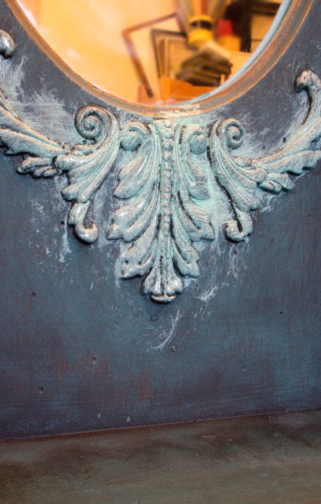 14 Faux Verdigris Paint Technique Oxidized Patina Application